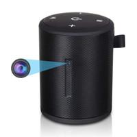 bluetooth mini kaydedici toptan satış-1080 P WiFi Mini Kamera Kablosuz Bluetooth Hoparlör Kamera Video Kaydedici Hareket Algılama Dadı Kam Kapalı Ev Güvenlik Izleme için