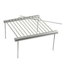 Wholesale used bbq grills for sale - Group buy Stainless Steel BBQ Grill Folding BBQ Grill Mini Pocket BBQ Grill Barbecue Accessories For Home Park Use