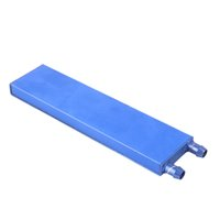Wholesale aluminum cooling block for sale - Group buy 1PCS x x mm Water Cooling Heatsink Block Liquid Cooler Aluminum Hea tsink For Computer CPU GPU
