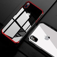 Wholesale Shining Tpu Case - 2018 Luxury Shine Case For iPhone X For iPhone 8 7 6 6s Plus Soft TPU Anti-shock Protector Case Clear Slim Cover