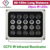 Wholesale led illuminator light cctv ir infrared for sale - Group buy High End Long distance M high power IR LED illuminator Infrared assistant light for CCTV LPR ANPR Camera