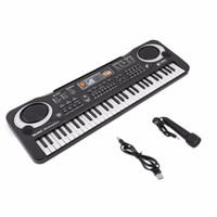 Wholesale electronic pianos for sale - Group buy 61 Keys Digital Music Electronic Keyboard Key Board Gift Electric Piano Gift new arrival