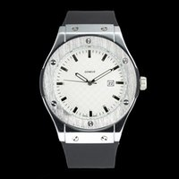 Wholesale round dial clock for sale - Group buy Fashion men s Silicone watchband quartz Watches Stainless Steel Dial Retro Clock dial Men Watches