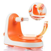 peladora de plástico al por mayor-2 Colores Manual de Apple Peeler Creative Home Kitchen Tool Nuevo Manualmente Práctica de Plástico Accesorios de Máquina de Pelado de Frutas Envío Gratis NB