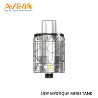 Wholesale disposable packing box for sale - Original IJOY Mystique Mesh Tank ml Capacity Disposable Atomizer for IJOY Mystique W Box Mod pc pack