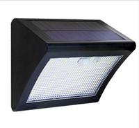 lámpara solar humana al por mayor-Luz solar LED Powered Panel LED de la lámpara solar 38LED Sensor de movimiento IP65 Cuerpo humano Inducción Iluminación exterior Jardín Lámpara de pared ABS LLFA