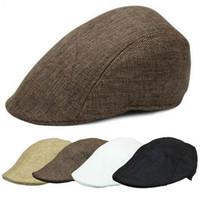 1 PC new arrival Casual Men Women Duckbill Ivy Cap Golf Driving Sun Flat  Cabbie Newsboy Beret Hat 205d15e9b999
