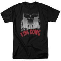 Wholesale kids gates for sale - King Kong At The Gates Poster T shirts for Men Women or Kids O Neck Fashion Casual High Quality Print T Shirt