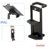 Wholesale Product Width - multifunction phone holder tablet cell mount hot new product universal for phone width 58-90mm tablet width 110-185mm