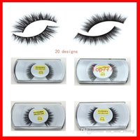 Wholesale Models Makeup - Fur Mink False Eyelashes Eyes Makeup Handmade mink handmade natural 3D models Lashes eyelash manufacturers Beaux Arts promotional