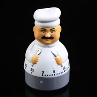 Wholesale wholesale clock supplies - Cartoon Flexible Calculagraph Kitchen Supplies Countdown Timer Alarm Count Down Chef Clock Shape Portable Timers Eco Friendly 6 3qh jj