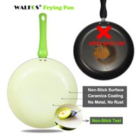 Wholesale ceramic cooking tools resale online - Walfos Non Stick Copper Frying Pan With Ceramic Coating Induction Oven Dishwasher Safe Kitchen Accessories Cooking Tools