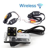 Wholesale car reverse parking camera wireless for sale - Group buy Wireless HD Car Rear View Camera For TOYOTA REIZ Land Cruiser Parking Backup Reverse Camera Night Vision Waterproof