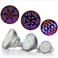 ingrosso giardini idroponica-Led Grow luci 30W 50W 80W Full Spectrum Led Pianta Grow Lamps E27 LED Orticoltura Coltiva la luce per Garden Flowering Hydroponics System
