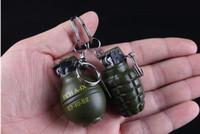 Wholesale Metal Grenade - Creative metal Guajian grenade other lighter wheel refilling lighter
