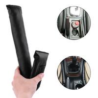 Wholesale car seat gap filler resale online - 1 New Faux Leather Car Seat Gap Fillers Practical Black Holster Spacer Auto Clean Slot Plug Car Accessories