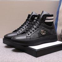 эксклюзивные ботинки оптовых-Высококачественные повседневные туфли из натуральной кожи 2019 года Роскошные бренды Эксклюзивный дизайн для мужских кроссовки Многоцветный дополнительный размер: 38 --- 44