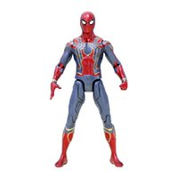 Wholesale spiderman toy model for sale - Avengers Spiderman PVC Action Figures Infinity War Superhero Figures Spider man Collectible Movable Model Dolls Toy Novelty Items OOA4968