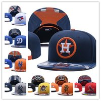 Wholesale baseball cap bowls - 2018 News baseball Adjustable Snapbacks Hip hop Flat hat Sports Team The High quality embroidery Caps For Men And Women-B