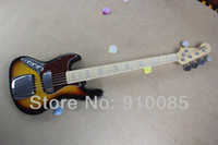 Wholesale mahogany ship models - Free shipping Hot Sale New Styl Marcus Miller Bass model, sunburst color 5 strings in stock