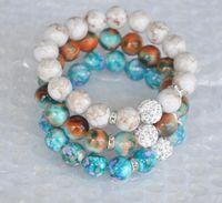 новые браслеты для дискотеки оптовых-Новый женщин ювелирные изделия 12 мм диско мяч стрейч шарик браслет акриловые Strand шарик Flex браслет для женщин подарки