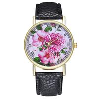 кожаный набор часов оптовых-Watch With Bracelet Women 2018 Women Fashion  Leisure Set Auger Leather Stainless Steel Quartz Watch