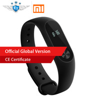 waterproof tracker bracelet 2018 - Global Version Xiaomi Mi Band 2 Miband 2 Heart Rate Monitor Fitness Tracker Touchpad OLED for IOS & Android Xiomi Bracelet band2