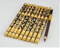 différentes couleurs de sourcils achat en gros de-2018 NOUVEAU maquillage crayon à sourcils léopard noir, couleur brune 1,5 g # 1.2.3.5color.DHL expédition