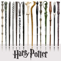 Wholesale harry potter wands toys resale online - Harry Potter Magic Wand Creative Cosplay Styles Hogwarts Harry Potter Series New Upgrade Resin Non luminous Magical Wand For Big Kids Toy