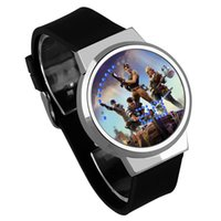 Wholesale back electronics online - Game Fortnite Cartoon LED Watch Fashion Teenager Electronic Luxury Wrist Watches For Kids Party Favor High Quality qy Ww