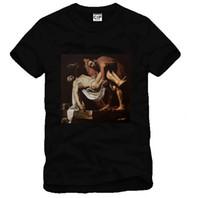 Wholesale pyrex vision 23 - HBA T-shirt PYREX VISION NO.23 Religion Printing Men Women Couples Tee Black New Fashion T-shirt