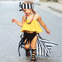 274a31a214f Fashion Summer Cute Infant Newborn Baby Girls Sleeveless Off Shoulder Tube  Solid Tops Blouse Casual Blouse Kids Girls Clothes