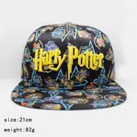 Homens E Mulheres Boné de Beisebol Harry Potter Academia Logotipo hip hop  Selvagem Chapéu Ocasional Ajustável Protetor Solar Snapbacks BBA289 7826d7ea6a5