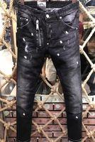 Wholesale Mens Skinny Denim Shorts - Hot Sale High Quality Tide Brand men jeans zippers Ripped Skinny Fashion Designer Shorts Slim Motorcycle Biker Causal Mens Denim Pants 68