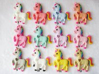 Wholesale Nurses Wholesale Gifts - Unicorn Pendant Necklace Silicone Teethers Colorful Horse Teething Toy Baby Chew Nursing Necklace BPA Free Safe Pendant Teethers