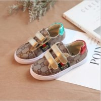 neue stil jungen schuhe großhandel-ACE New Fashion Designer Kinderschuhe Kinder Casual Style Schuhe Korean Stitching Pattern Schuhe für Baby Jungen Mädchen