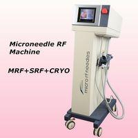 ingrosso derma pen ce-2018 fractional rf microneedle scarlet device micro needling derma pen radioterapia trattamento della pelle 81,49,25 pin e punte SRF