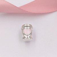 trinken armband großhandel-Authentische 925 Sterling Silber Perlen Drink To Go Charm Charms für europäische Pandora Style Schmuck Armbänder Halskette