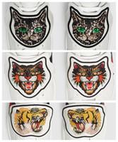 ingrosso le scarpe da disegno della farfalla-Nuove scarpe di design Patch ricamata ACE - Farfalla Cat Tiger Patch sul retro Decorazioni di scarpe rimovibili Caldo in vendita