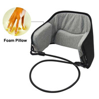 Wholesale fashion portable Neck Pain Relief relaxing Hammock neck Massager foam napping sleeping pillow cushion For Home Office
