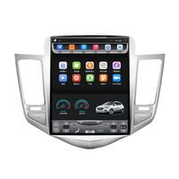 navigation toptan satış-2009-2015 için Holden Cruze Daewoo Lacetti 10.4 inç Dikey dokunmatik Ekran Android Araba GPS Navigasyon Video Wifi