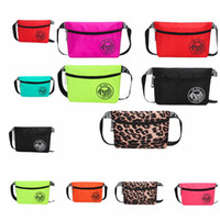 Wholesale fashion pouches - 8 color pink Travel waist pack beach women bag Pink waterproof Pack Belt Bag Phone Pouch Bags Travel Waist Pack KKA4828