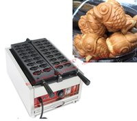 Free Shipping 18 pcs plate Mini Taiyaki Waffle Maker Goldfish shared