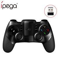 bluetooth gamepad windows al por mayor-Bluetooth Gamepad iPega PG-9076 PG 9076 para PlayStation3 Controlador con soporte para Android / Windows Smartphon Tablet PC