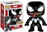 ingrosso figure di azione di qualità-Funko POP Venom Vinile Action Figure Con scatola # 82 Modello popolare giocattolo Buona qualità Spedizione gratuita
