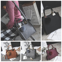 Wholesale Wholesale Messenger Bags For Women - WOMEN Quadrate Tote Bag for Women Vintage Lady Crossbody Shoulder Bags Nubuck Leather Shoulder Bags Messenger Crossbody Bag KKA4298