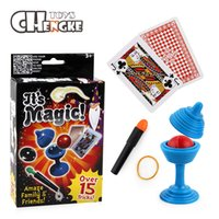 Wholesale Puzzles Tricks - Magic Cards Marked Poker Magic Tricks Close-up Street Magic Props Cards Brand New Kid Child Puzzle Toy
