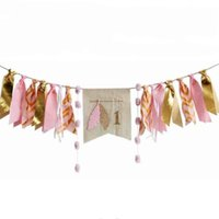 Wholesale shop wedding decorations for sale - Group buy Fish Tail Shape Hanging Flags With Ribbon Cupid Wedding Pull Flag For Festival Shopping Malls Window Decorations Banner Lovely jz B