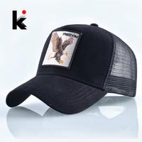 Fashion Animals Embroidery Baseball Caps Men Women Snapback Hip Hop Hat  Summer Breathable Mesh Sun Gorras Unisex Streetwear Bone 763417792840