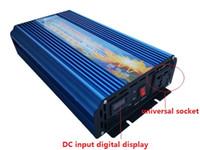 Wholesale pure sine inverter 48v - 2500W pure sine wave solar power inverter DC 12V 24V 48V to AC 110V 220V digital display